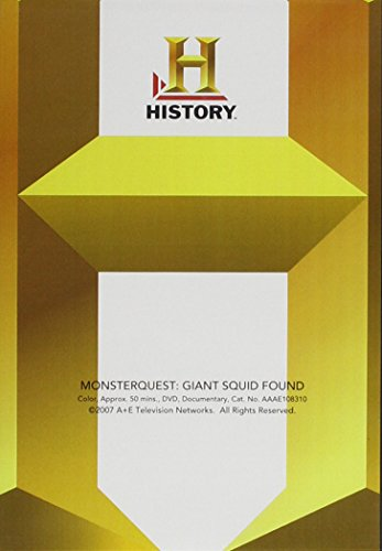MonsterQuest: Giant Squid Found?