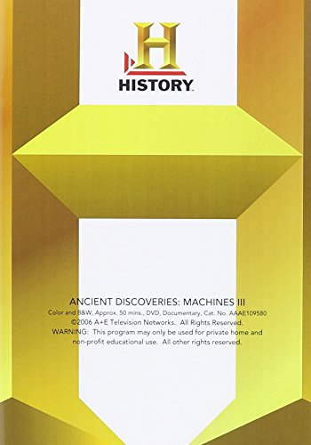 Ancient Discoveries: Machines III