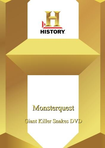 History --Monsterquest: Giant Killer Snakes Dvd