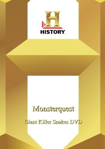 History --Monsterquest: Giant Killer Snakes Dvd