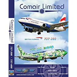 Comair, British Airways, Kulula Air Boeing 737
