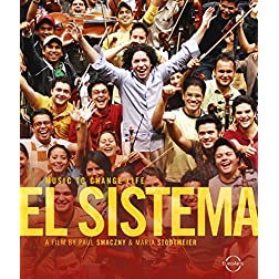 El Sistema: Music to Change Life - featuring the Simon Bolivar Youth Orchestra, Caracas Children's Orchestra, Gustavo Dudamel [Blu-ray]