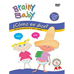 BRAINY BABY: COMO SE DICE? - ENGLISH (Spanish)