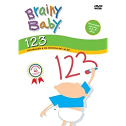 BRAINY BABY: 123 - 123'S (Spanish)