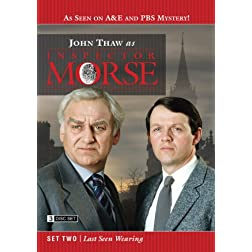 Inspector Morse Set Two - Last Seen Wearing (3 Disc Set)