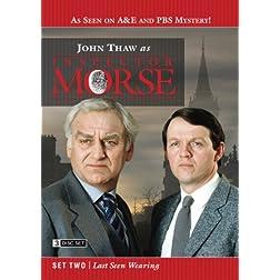 Inspector Morse Set Two - Last Seen Wearing (3 Disc Set)