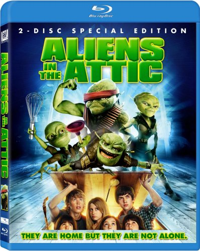 Aliens in the Attic (+ Digital Copy) [Blu-ray]