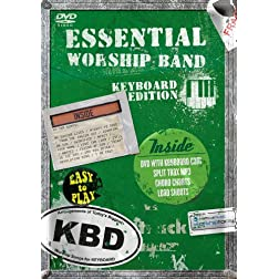Essential Worship Band: Keyboard DVD