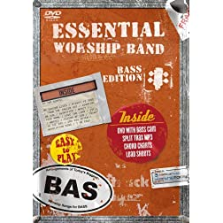 Essential Worship Band: Bass DVD