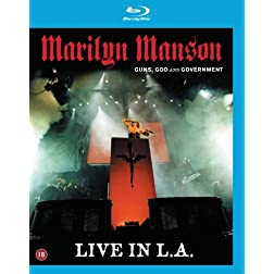 Marilyn Manson: Guns, God and Government - Live in L.A. [Blu-ray]