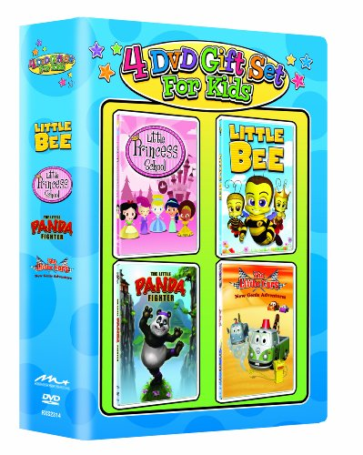 The Princess School/Little Bee/The Little Panda Fighter/The Little Cars: New Genie Adventrues