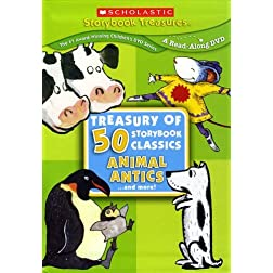 Treasury of 50 Storybook Classics: Animal Antics... and More!