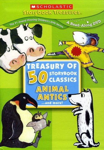 Treasury of 50 Storybook Classics: Animal Antics... and More!