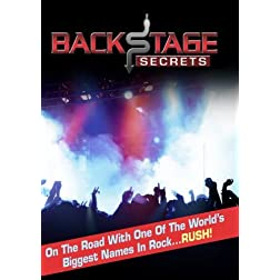 Backstage Secrets: On the Road with the Rock Band RUSH (Home Use)