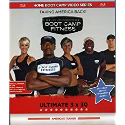 Jay Johnson's Boot Camp Fitness: Ultimate 3x30 [Blu-ray]
