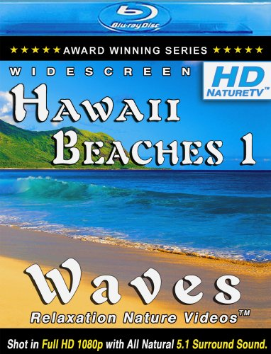 HD HAWAII BEACHES 1 / WAVES Relaxation Nature Videos [Blu-ray]