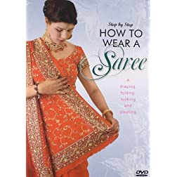 How To Wear A Saree Step By Step