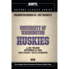 Instant Classics Series: University of Southern California vs. University of Washington 9/19/2009