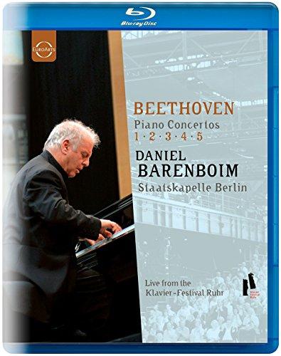 Daniel Barenboim/Staatskapelle Berlin: Beethoven - Piano Concertos 1-5 [Blu-ray]