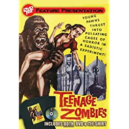Teenage Zombies DVDTee (Size XL)