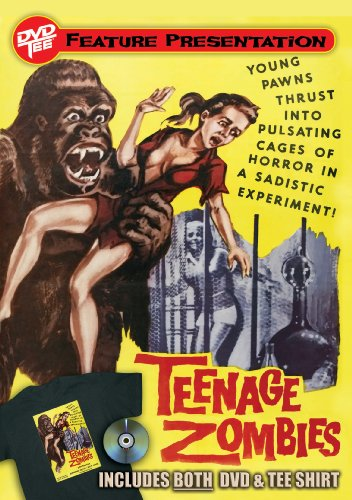 Teenage Zombies DVDTee (Size XL)