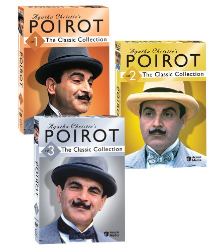 Agatha Christie's Poirot: The Classic Collections, Sets 1-3