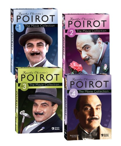 Agatha Christie's Poirot: The Movie Collections, Sets 1-4