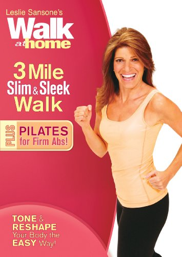 Leslie Sansone: Walk at Home - 3 Mile Slim & Sleek Walk Plus Pilates