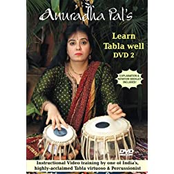 Anuradha Pal: Learn Tabla Well, Vol. 2