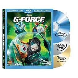G-Force (Three-Disc DVD/Blu-ray Combo +Digital Copy) [Blu-ray]