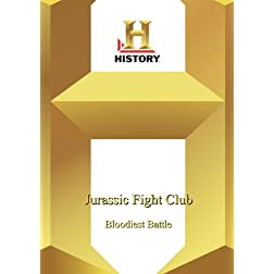 History -- Jurassic Fight Club: Bloodiest Battle