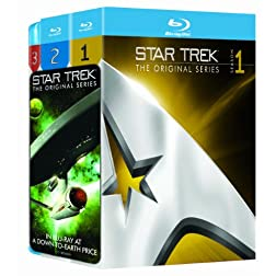 Star Trek: The Original Series - Seasons 1-3 [Blu-ray]