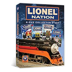 Lionel Nation 4-DVD Collector's Set
