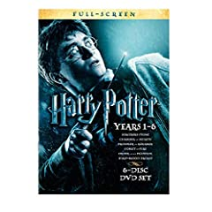 Harry Potter Years 1-6 Giftset (Full-Screen Edition)