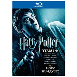 Harry Potter Years 1-6 Giftset [Blu-ray]