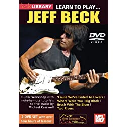 Learn To Play Jeff Beck 2-DVD set