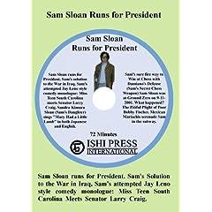 Sam Sloan Runs for President