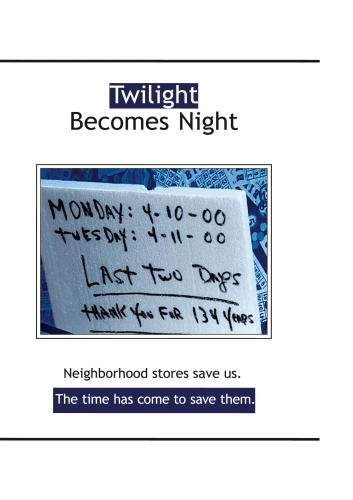 Twilight Becomes Night (Home Use)