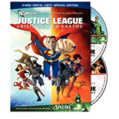 Justice League: Crisis on Two Earths (Two-Disc Amazon Exclusive with Lithograph)