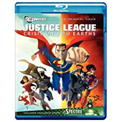 Justice League: Crisis on Two Earths (Amazon Exclusive with Lithograph) [Blu-ray]