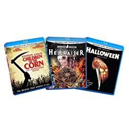 Classic Horror Bundle (Children of the Corn / Hellraiser / Halloween) [Blu-ray] (Amazon.com Exclusive)