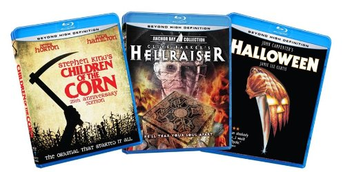 Classic Horror Bundle (Children of the Corn / Hellraiser / Halloween) [Blu-ray] (Amazon.com Exclusive)