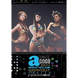 DANCE A GOGO: SEXY NIGHTCLUB WORKOUT 3 DVD SERIES BOX-SET