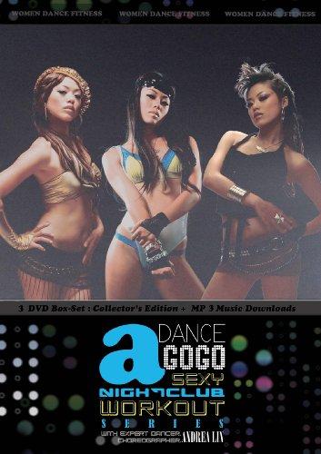 DANCE A GOGO: SEXY NIGHTCLUB WORKOUT 3 DVD SERIES BOX-SET