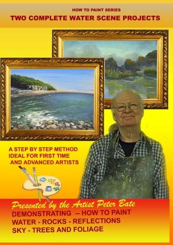 How to Paint Waterscenes in Oils Mimosa Beach and Daylesford Lake