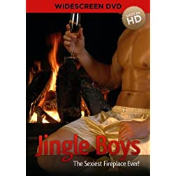 Jingle Boys - The Sexiest Fireplace Ever!