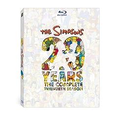 The Simpsons: The Complete Twentieth Season [Blu-ray]