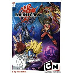 Bakugan, Vol. 6: Time for Battle