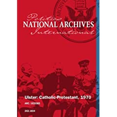 Ulster: Cathoilic - Protestant, 1970