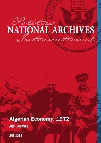 Algerian Economy, 1972
